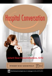 Cover Hospital Conversation oleh Juliarti Dewi Kusumohartono, S.Pd