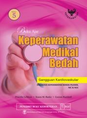Cover Buku Ajar Keperawatan Medikal Bedah Gangguan Kardiovaskular Edisi 5 oleh Priscilla Lemone