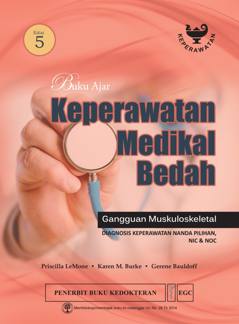 Buku Ajar Keperawatan Medikal Bedah Muskuloskeletal Edisi 5 by Priscilla Lemone Digital Book