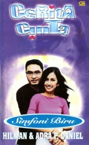 Cover Cerita Cinta 2 Simfoni Biru oleh Hilman & Adra P. Daniel