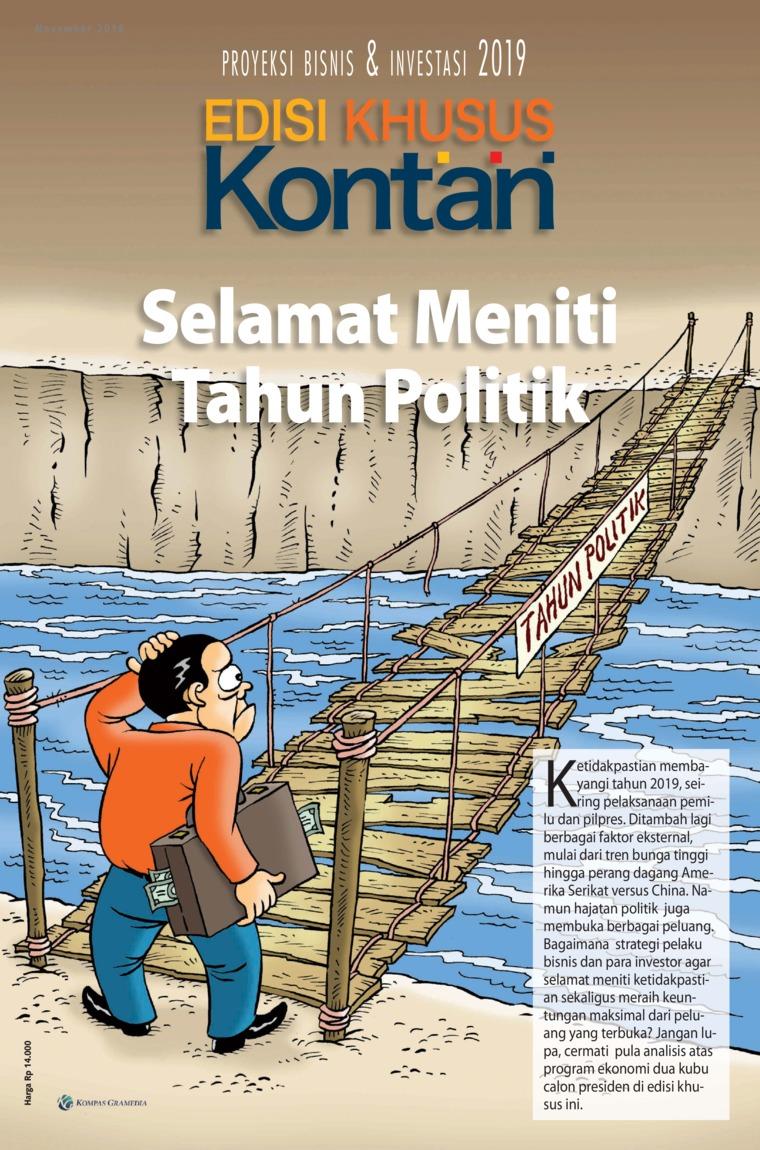 Majalah Digital KONTAN Edisi Khusus November 2018