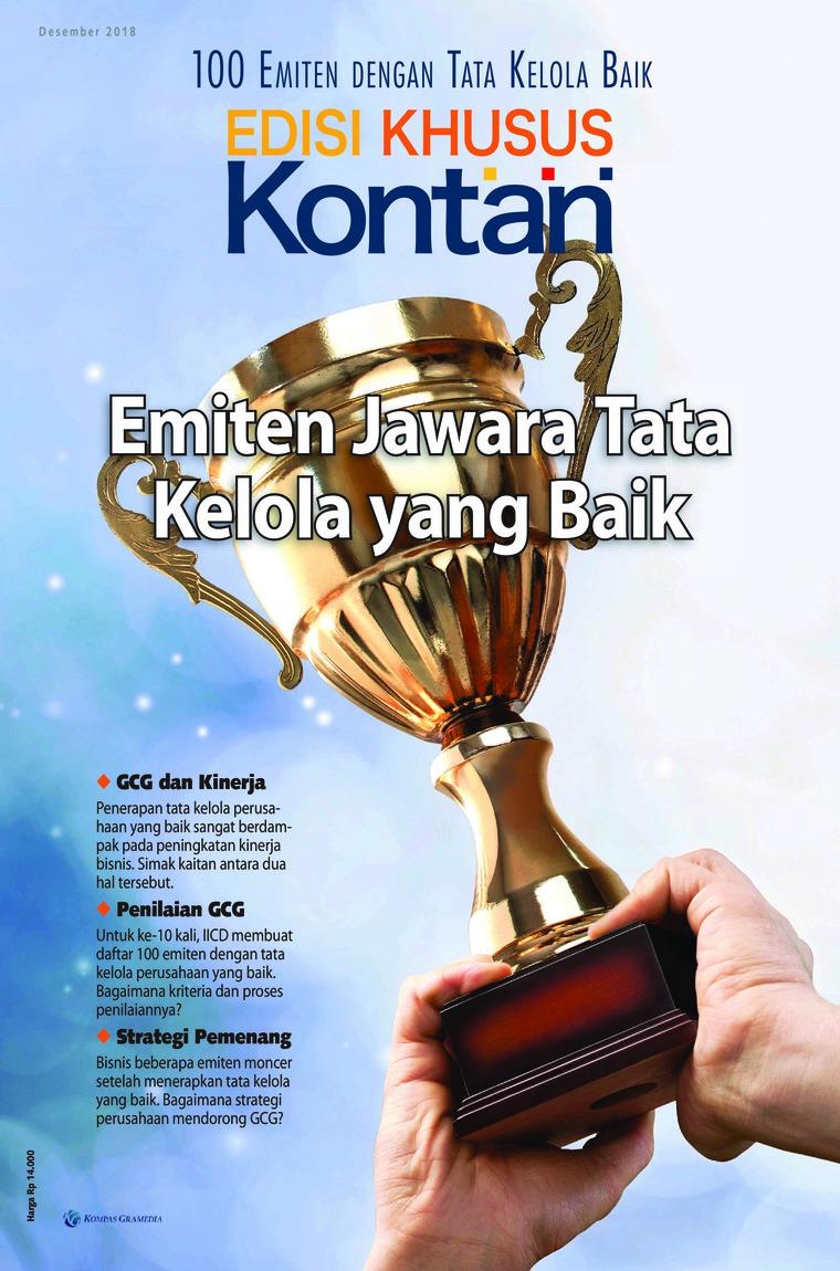 Majalah Digital KONTAN Edisi Khusus Desember 2018