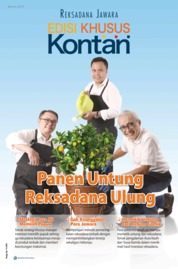 KONTAN Edisi Khusus Magazine Cover March 2019