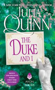 The Duke and I With 2nd Epilogue by Julia Quinn Cover