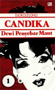 Cover Candika Dewi Penyebar Maut #1 oleh Djokolelono