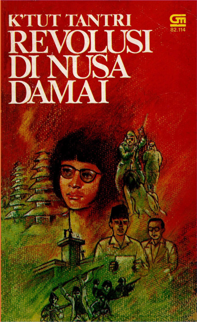 Buku Digital Revolusi di Nusa Damai oleh K'tut Tantri
