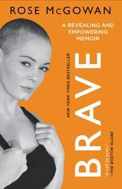 Cover BRAVE oleh Rose McGowan