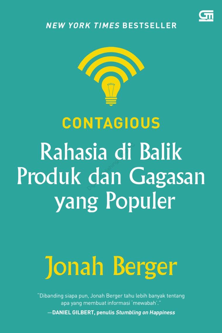 Buku Digital Contagious: Rahasia di Balik Produk dan Gagasan yang Populer (cover baru) oleh Jonah Berger