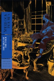 Cover Empat Pemburu Harta (The Sign of Four) *Hard Cover oleh Sir Arthur Conan Doyle