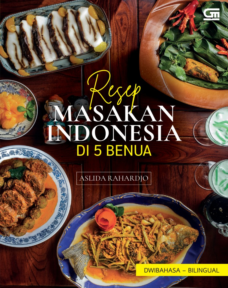 Resep Masakan Indonesia di 5 Benua by Aslida Rahardjo Digital Book