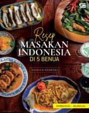 Cover Resep Masakan Indonesia di 5 Benua oleh Aslida Rahardjo
