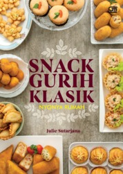 Snack Gurih Klasik by Julie Sutarjana Cover