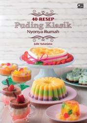 40 Resep Puding Klasik by Julie Sutarjana Cover