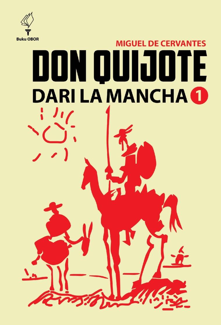 Buku Digital Don quijote dari la Mancha jilid 1 oleh Miguel de Cervantes