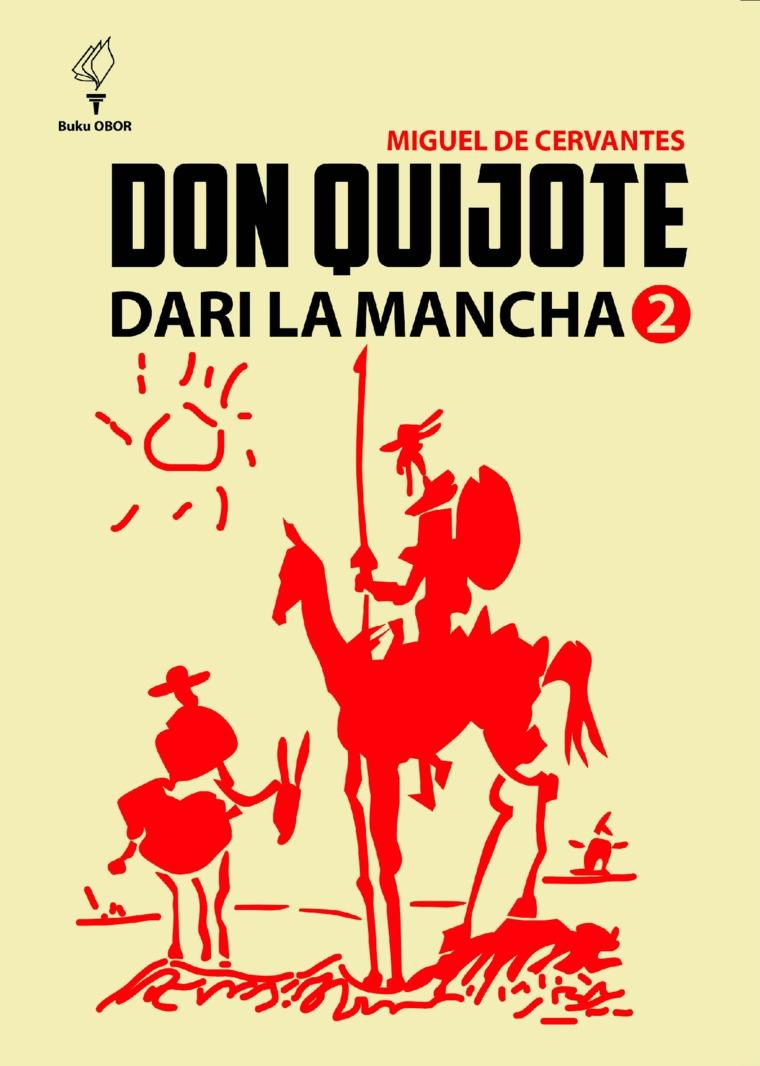Buku Digital don quijote dari la Mancha jilid 2 oleh Miguel de Cervantes