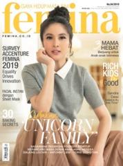 Femina Magazine Cover ED 04 April 2019