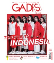GADIS Magazine Cover ED 04 August 2019