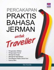 Cover Percakapan Praktis Bahasa Jerman untuk Traveller oleh Ifah Hanifah