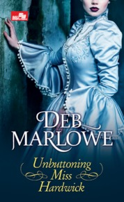 Cover HR: Unbuttoning Miss Hardwick oleh Deb Marlowe