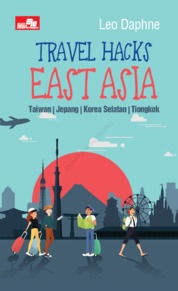 Cover Travel Hacks East Asia oleh Peter Ryan