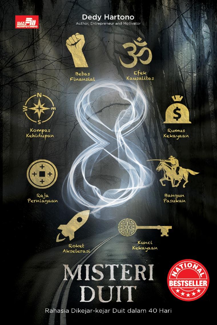 Buku Digital 8 MISTERI DUIT Rahasia Dikejar-Kejar Duit dalam 40 Hari oleh Dedy Hartono