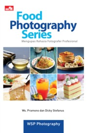 Cover Food Photography Series oleh WS. Pramono