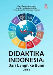 Didaktika Indonesia : Dari Langit ke Bumi (Jilid 2) by Raja H. Napitupulu Cover