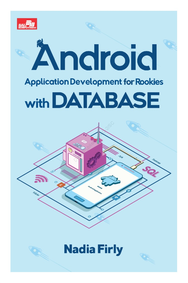 Buku Digital Android Application Development for Rookies with Database oleh Nadia Firly