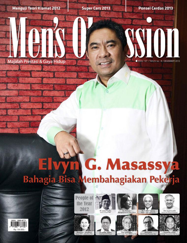 Men's Obsession Digital Magazine December 2012