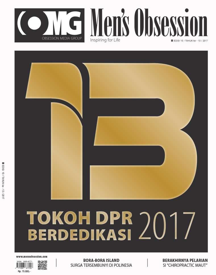 Majalah Digital Men's Obsession Oktober 2017