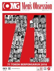 Cover Majalah Men's Obsession Agustus 2016