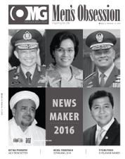Cover Majalah Men's Obsession Desember 2016
