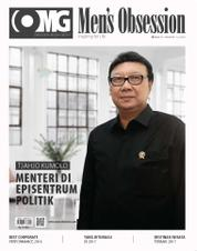 Cover Majalah Men's Obsession Januari 2017