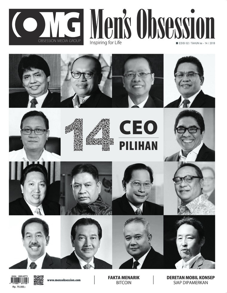 Men's Obsession Digital Magazine February 2018