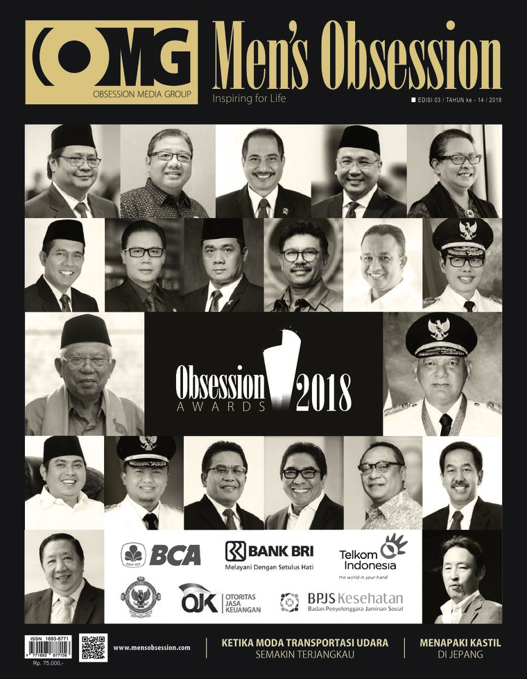 Majalah Digital Men's Obsession Maret 2018