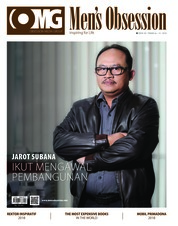 Cover Majalah Men's Obsession Mei 2018