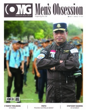 Men's Obsession Magazine Cover