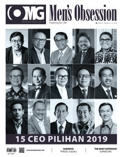 Cover Majalah Men's Obsession Februari 2019