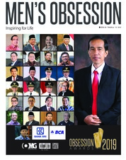 Men's Obsession Magazine Cover March 2019