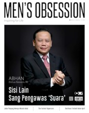 Cover Majalah Men's Obsession April 2019