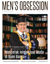 Cover Majalah Men's Obsession Mei 2019