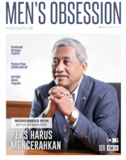 Cover Majalah Men's Obsession