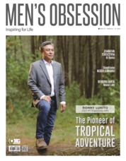 Men's Obsession Magazine Cover July 2019