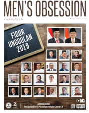 Men's Obsession Magazine Cover August 2019
