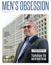 Men's Obsession Magazine Cover September 2019