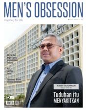 Cover Majalah Men's Obsession September 2019