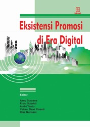 Eksistensi Promosi di Era Digital by Asep Suryana Cover