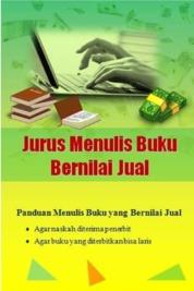 Cover Jurus Menulis Buku Bernilai Jual oleh Rasibook