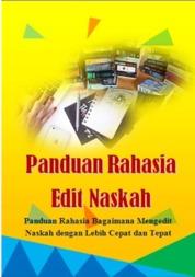 Cover Panduan Rahasia Edit Naskah oleh Rasibook