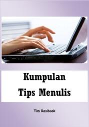 Cover Kumpulan Tips Menulis oleh Rasibook